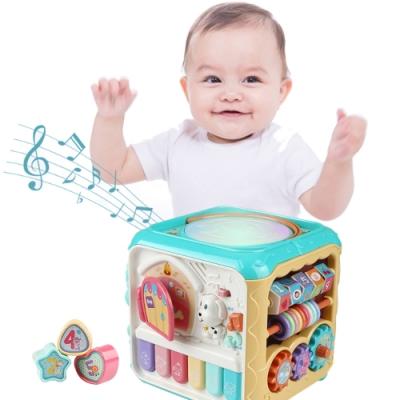 JoyNa智立方多面探索聲光音效玩具