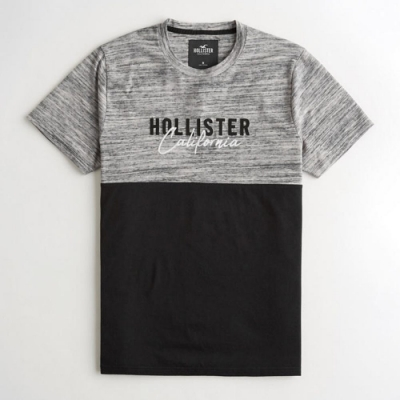 Hollister HCO 短袖 T恤 灰色  1406