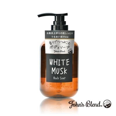 John's Blend 香氛沐浴液態皂(460mL/瓶)-白麝香