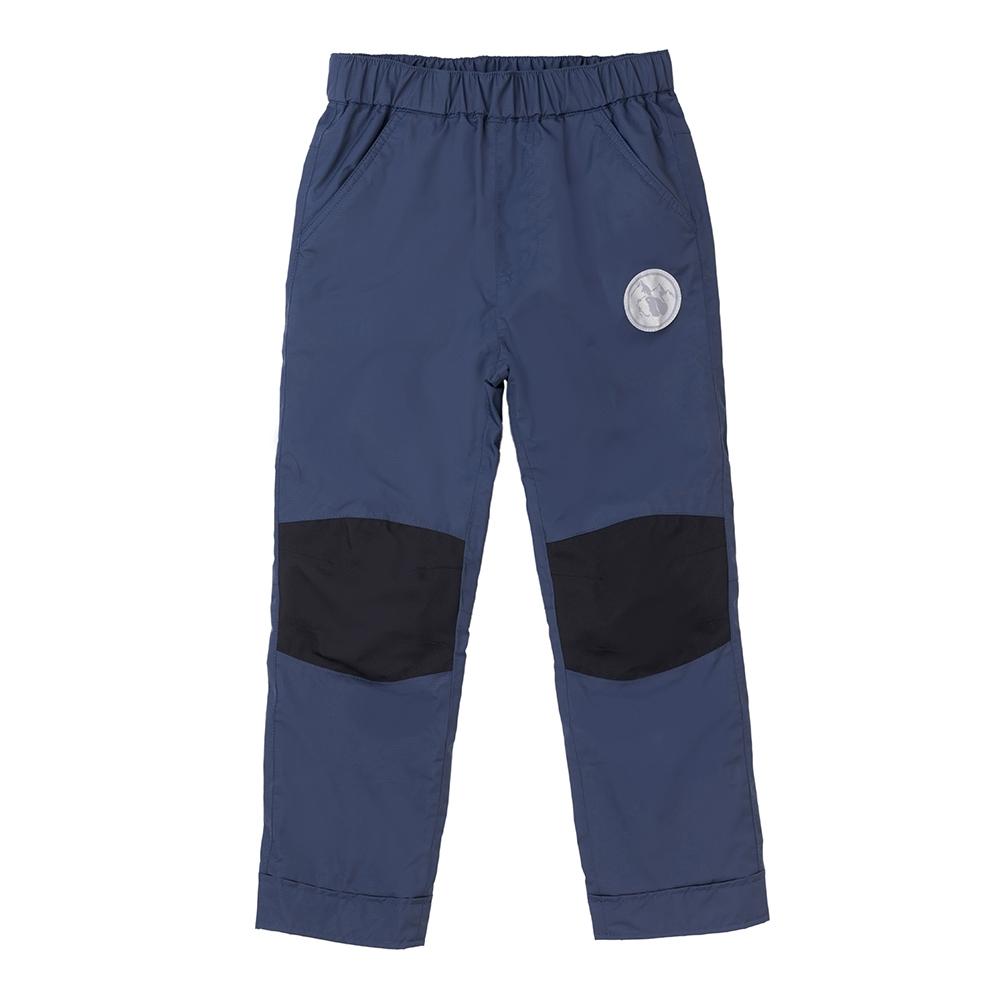 【St. Bonalt 聖伯納】童款內刷毛衝鋒褲 (8156-藏青) 防風  防水 保暖 透氣