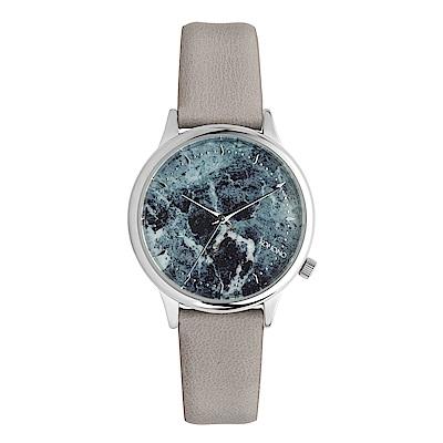 KOMONO Estelle Marble 腕錶-薄荷綠/36mm