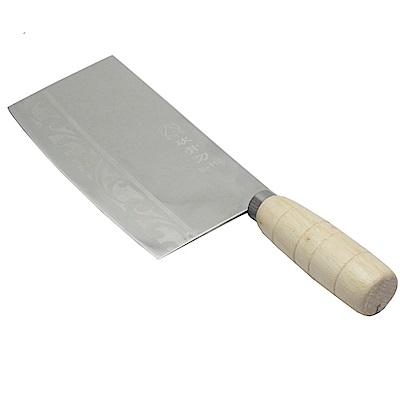 月陽 不鏽鋼料理切剁兩用菜刀 S112