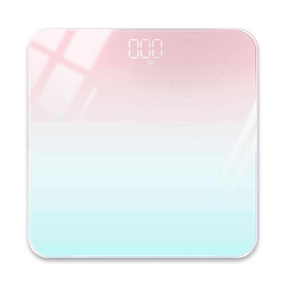 A2 MTK 極光漸變鋼化玻璃智能體重計 product image 1