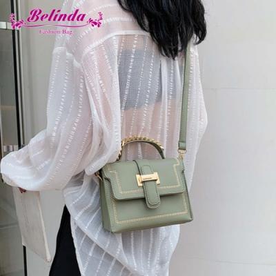 【Belinda】拉米亞甜美麻花型提把手提側背包(綠色)
