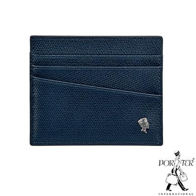 PORTER - 個性主宰LOGIC輕薄卡片夾 - 深藍