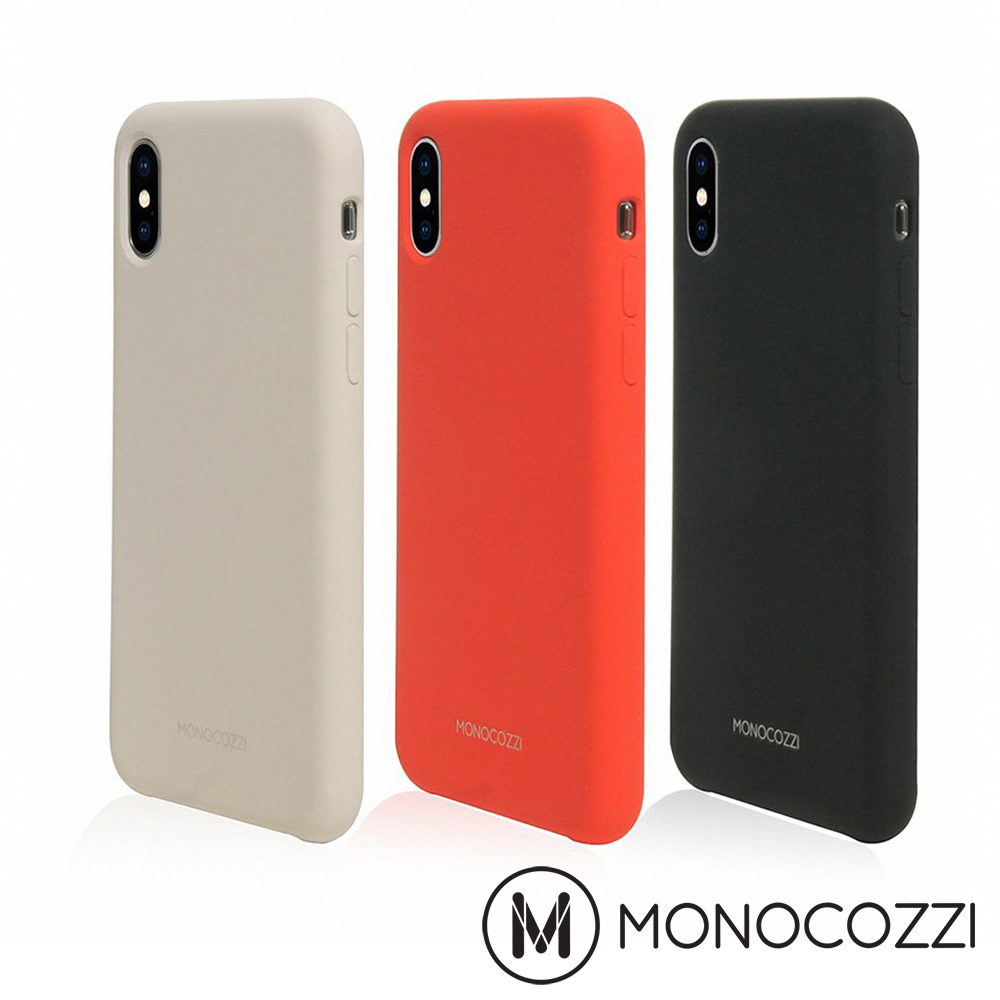 MONOCOZZI Gritty SoftTouch iPhone XS防污保護殼
