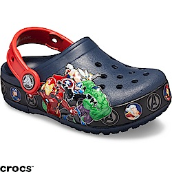 Crocs 卡駱馳 (童鞋) 復仇者聯盟酷閃小克駱格-205507-410