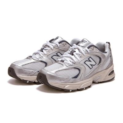 New Balance 慢跑鞋 530 復古 潮流 運動 男女鞋 紐巴倫 舒適 避震 透氣 情侶穿搭 銀 白 MR530KAD