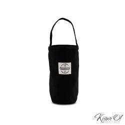 Kiiwi O! 輕便隨行系列帆布飲料袋 IRIS 黑