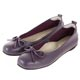 G.Ms. MIT系列-牛皮蝴蝶結方頭娃娃鞋-紫色 product thumbnail 1