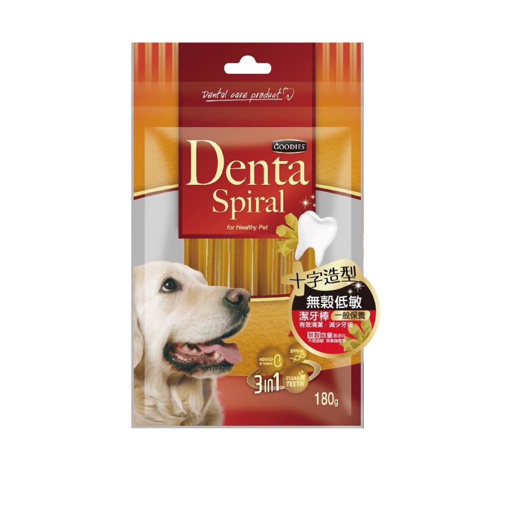 寵愛物語-Denta Spiral無穀低敏潔牙棒 十字造型180g-2包組