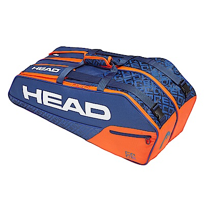 HEAD Core Combi 6支裝球拍袋-藍橘 283519