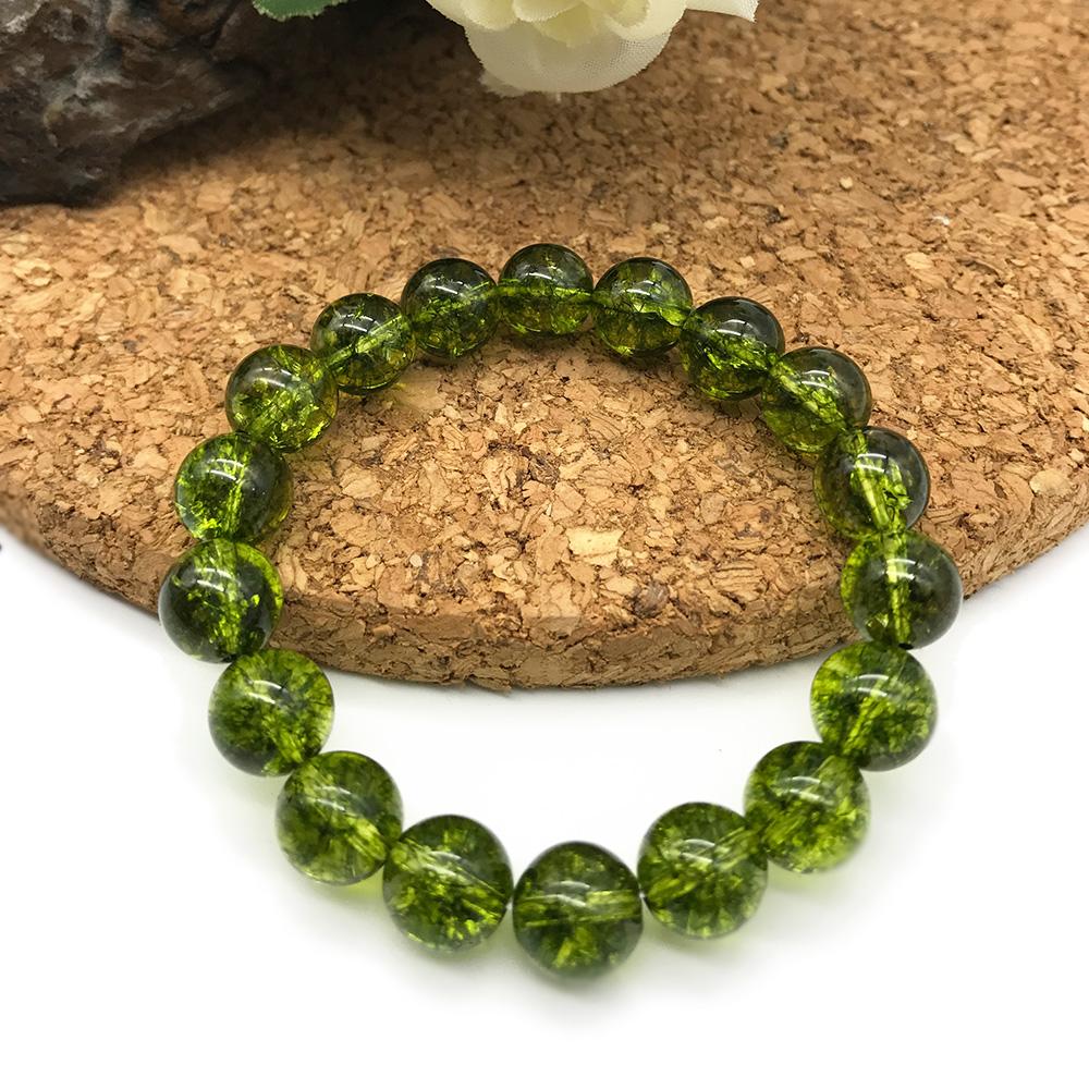 Hera 赫拉 頂級晶透橄欖石手珠(8mm)