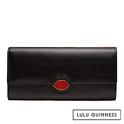 LULU GUINNESS CORA 長夾 (黑)