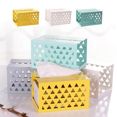 Conalife 北歐風鐵製面紙盒(2入)