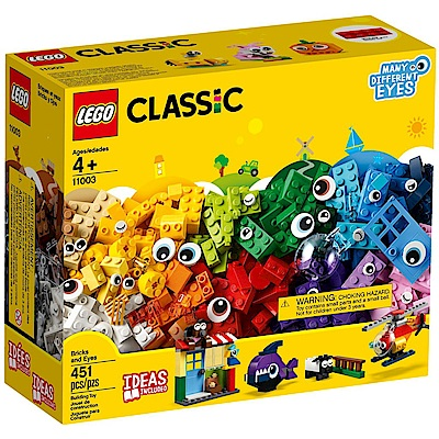 【LEGO樂高】經典系列 11003 大眼顆粒套裝