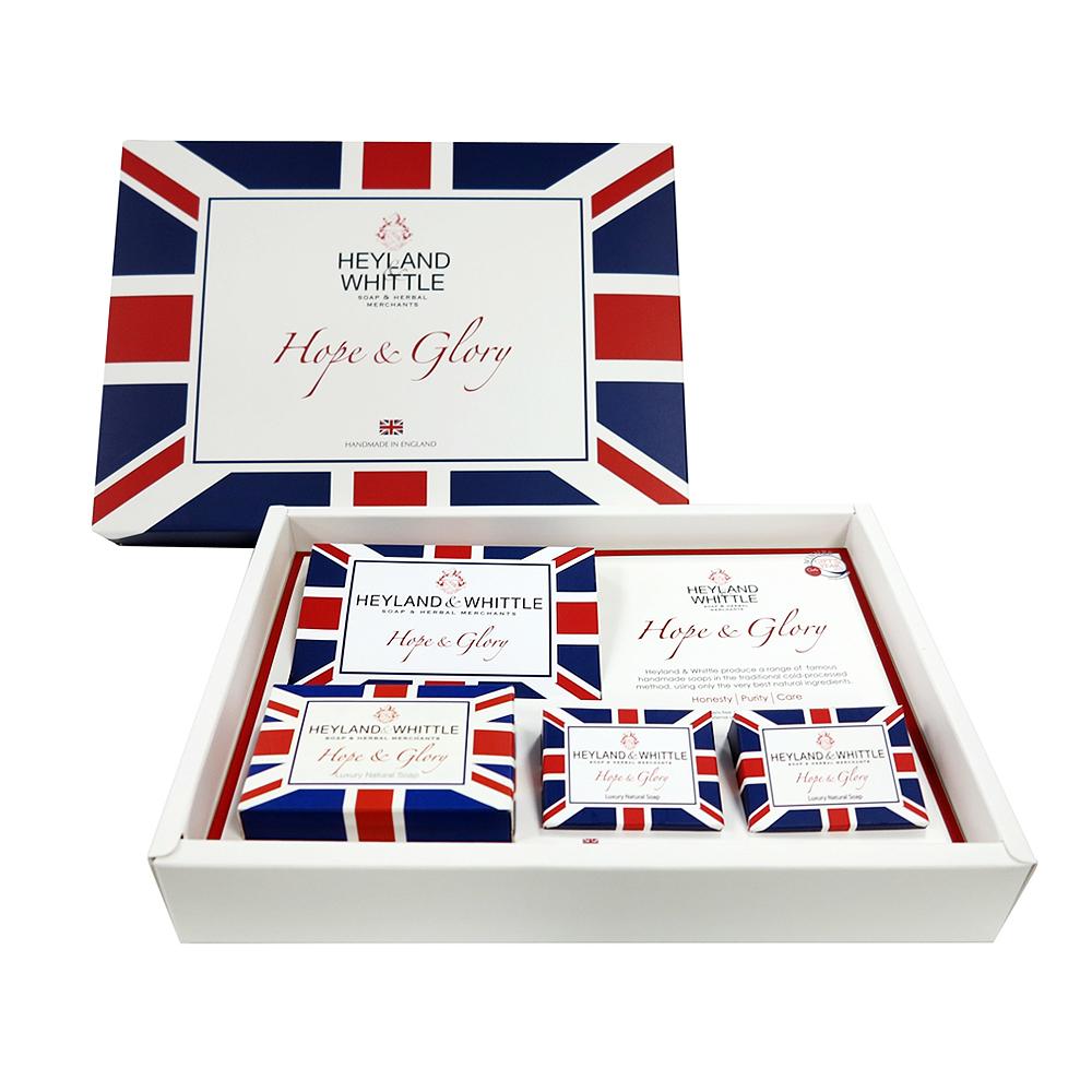H&W英倫薇朵 希望與榮耀系列 英倫禮讚手工皂禮盒