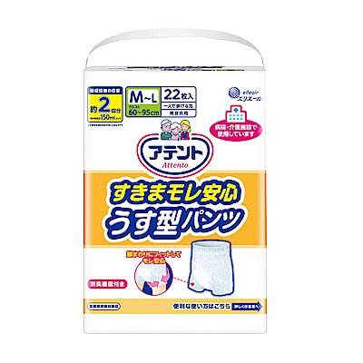 日本大王Attento超透氣防漏復健褲M~L(22片/包)