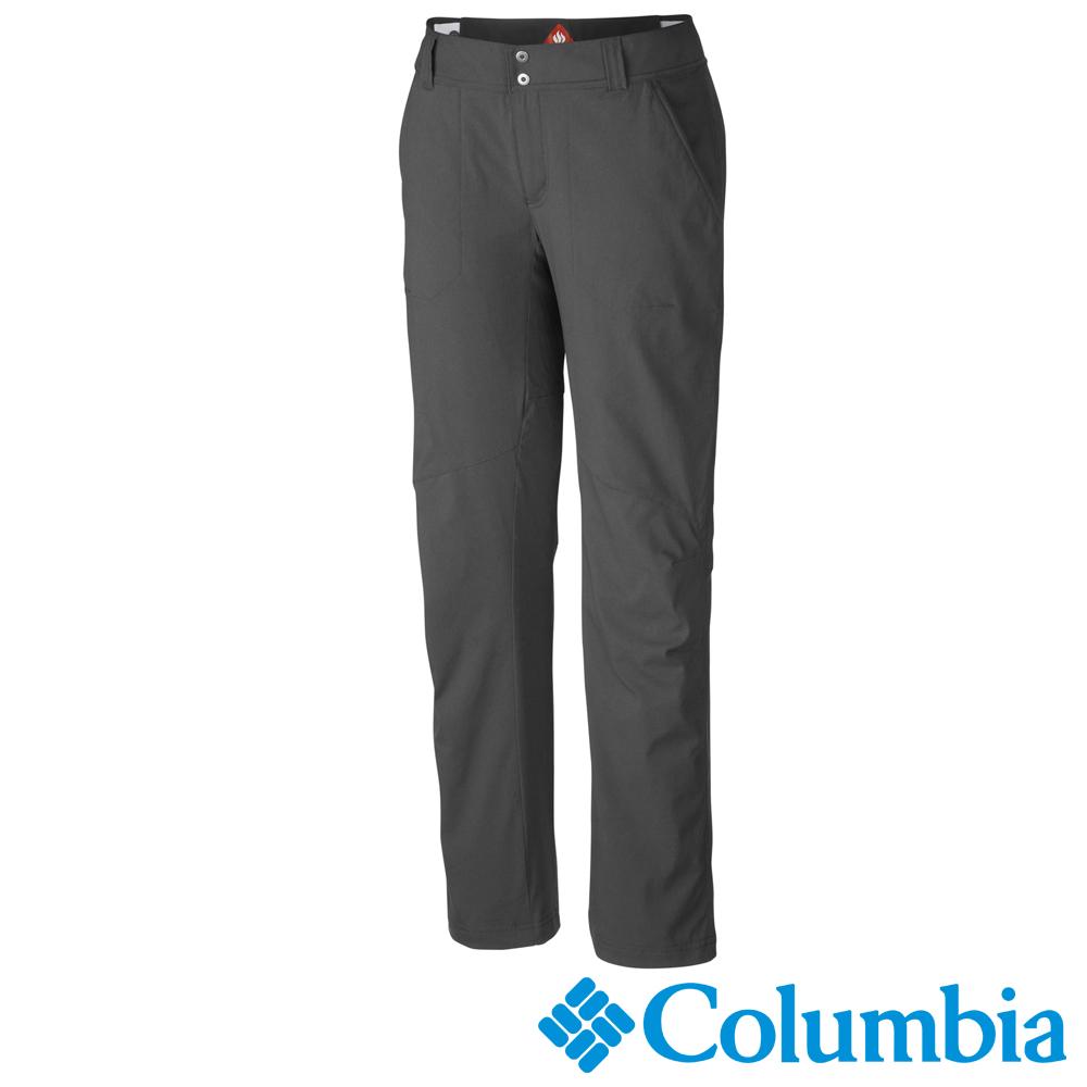 Columbia 哥倫比亞 女款-保暖防潑長褲-深灰 UAR89960DY