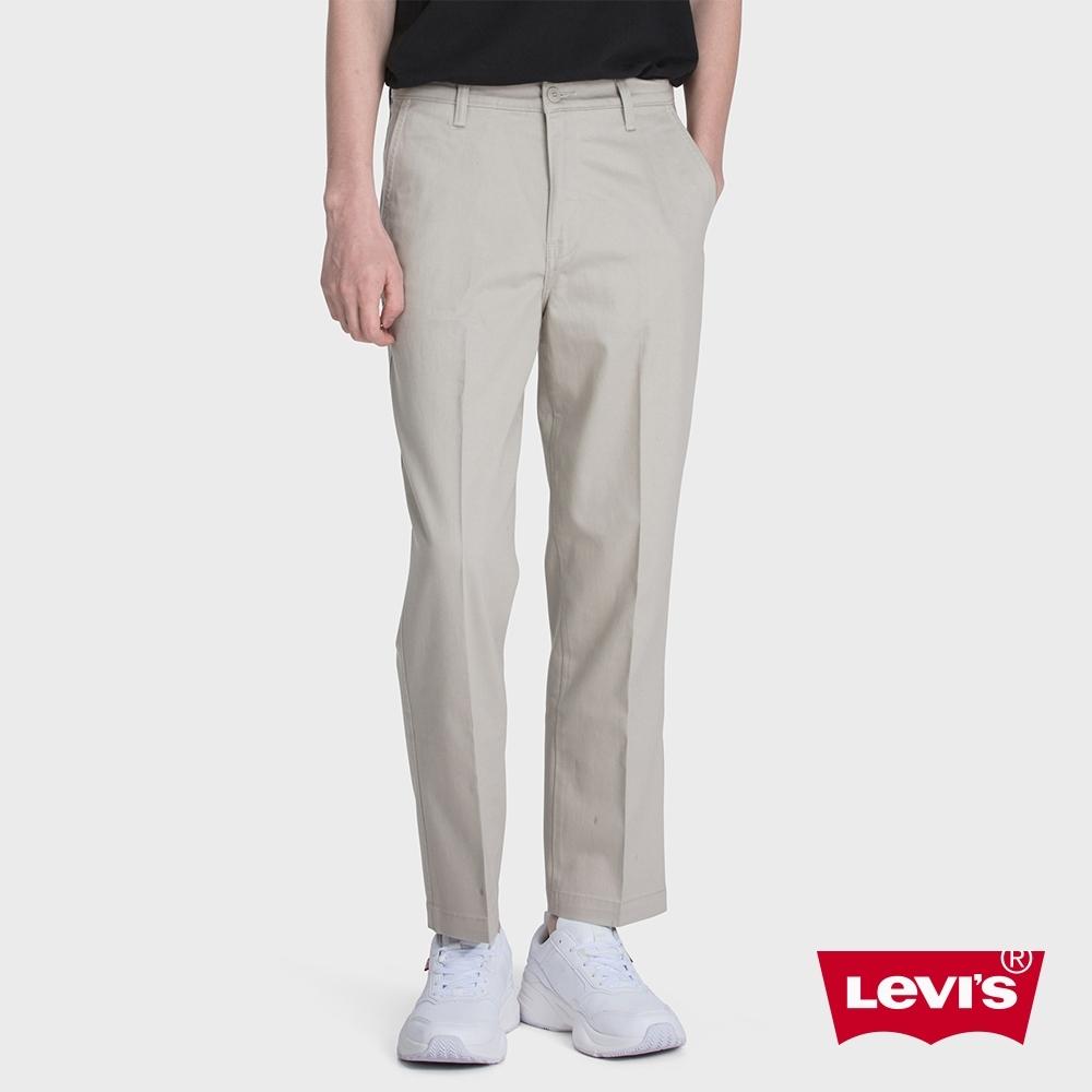 Levis 男款 CHINO卡奇休閒褲 及踝直筒版型 滑板系列 超彈力布料