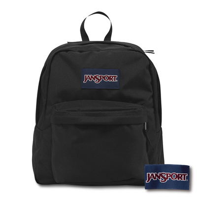 JanSport -SPRING BREAK系列後背包 -黑