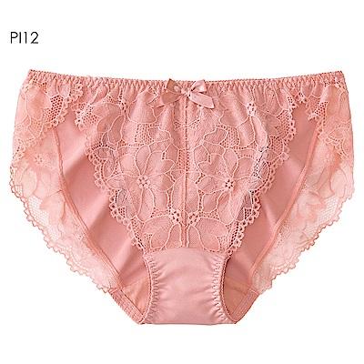 aimerfeel 雅緻蕾絲淑女內褲-珊瑚粉紅-959021-PI12
