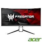 Acer X34P 34型 IPS 21:9曲面無邊框電競螢幕Predator