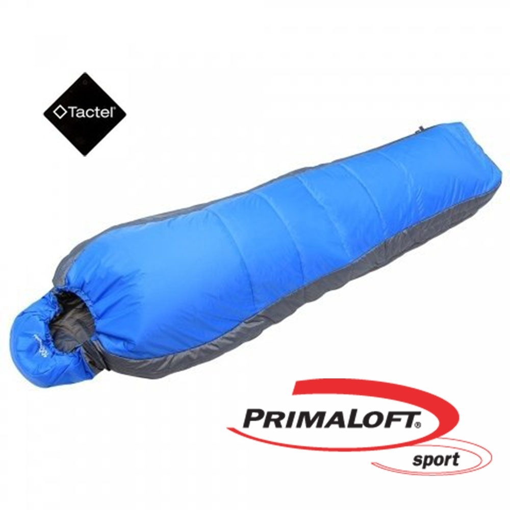 100mountain P-133 輕量 PrimaLoft 化纖保暖睡袋 藍