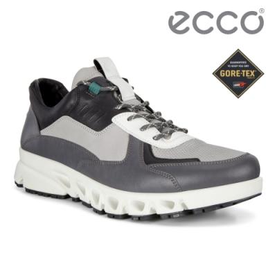 ECCO MULTI-VENT M 全方位城市戶外防水運動休閒鞋 男鞋深灰色