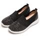 DIANA耀眼亮蔥針織漫天水鑽輕量休閒鞋-璀璨樂活-黑 product thumbnail 1