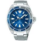 SEIKO精工 PROSPEX 愛海洋藍鯊動力儲存潛水機械錶(SRPD23J1)