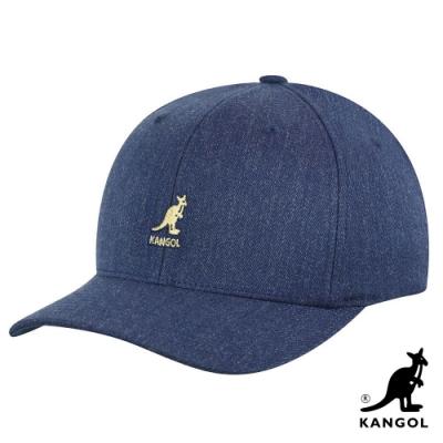 KANGOL -WOOL FLEXFIT 棒球帽-丹寧色