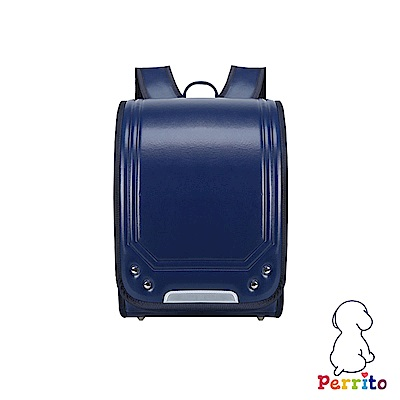 Perrito「忍者學園」日式核心護脊兒童書包 (藍色)