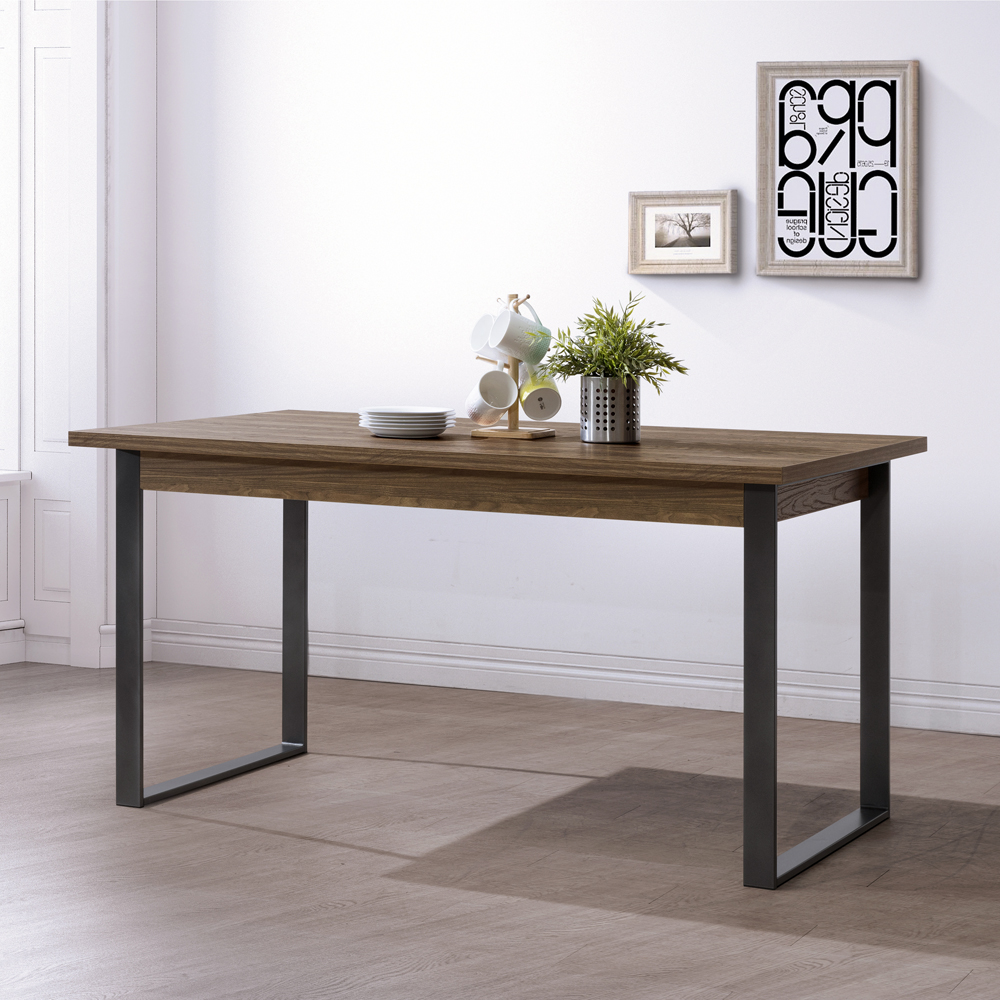 美傢ALBBRT 5尺餐桌/寬152.4*深90*高78公分/DIY自行組合產品(不含椅)