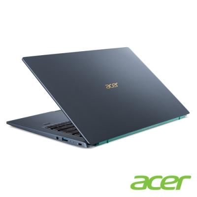 Acer SF314-510G-78C0 14吋輕薄筆電(i7-1165G7/16G/512G SSD/藍)