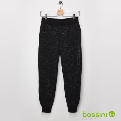 bossini女裝-束口針織褲04黑
