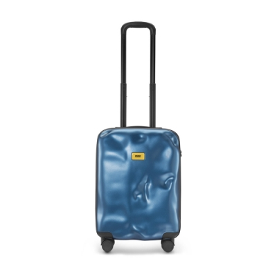 【Crash Baggage】Icon拉鍊款20吋科技藍防撞行李箱