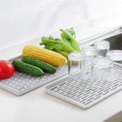 【Cap】多功能廚具/杯架瀝水盤/洗蔬果雙層托盤