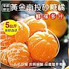 【天天果園】南投高山超迷你砂糖橘禮盒(每盒約5斤) x2盒