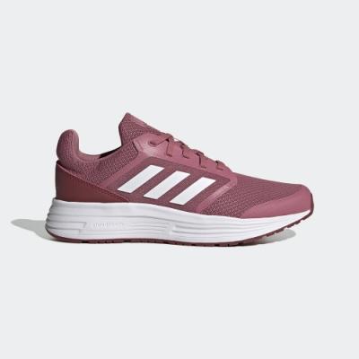 adidas 慢跑鞋 健身 訓練 運動鞋 女鞋 玫紅 FW6124 GALAXY 5