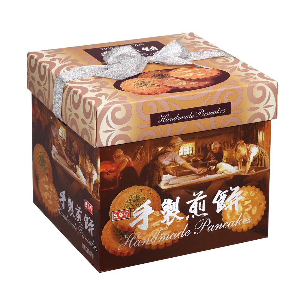 盛香珍 手製煎餅禮盒-花生+綠藻(570g)