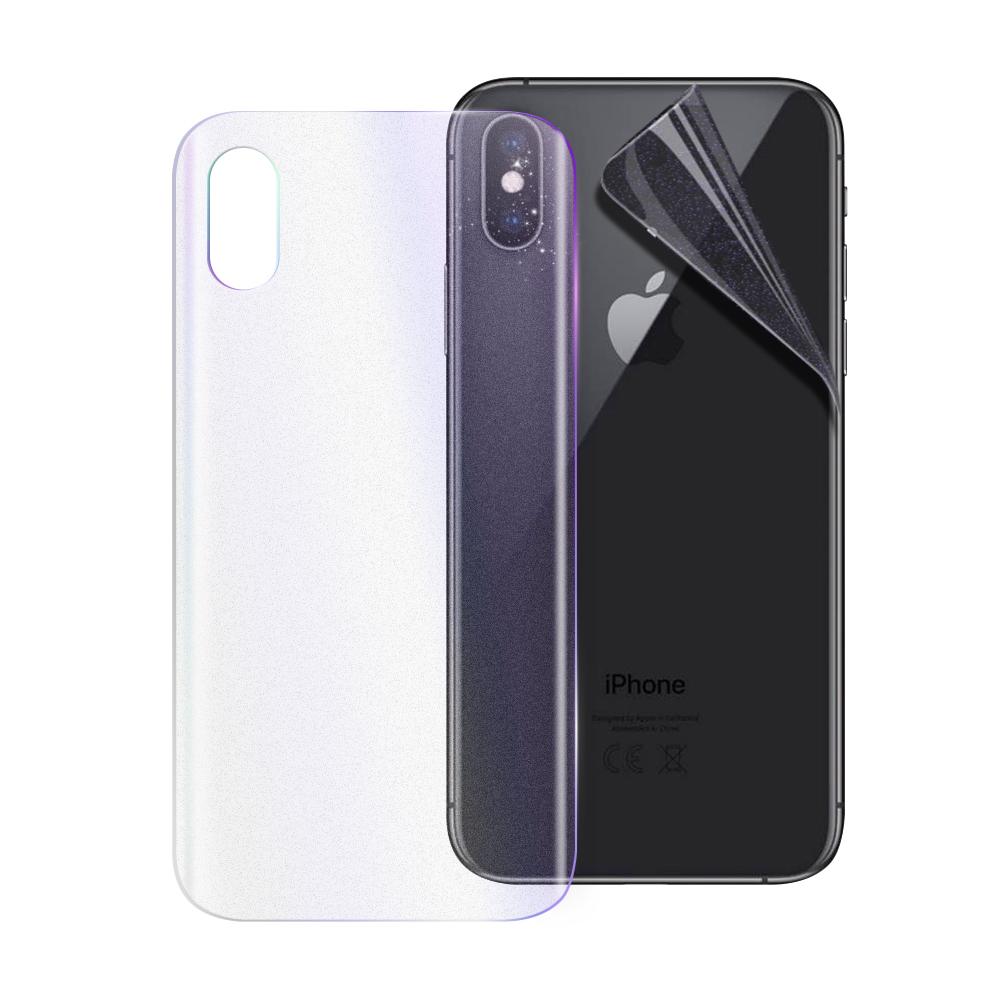 o-one大螢膜PRO  iPhone Xs Max 大螢膜滿版全膠手機背面貼-閃鑽