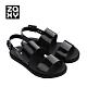ZAXY LINK SAND 鏈接系列造型涼鞋-黑 product thumbnail 1