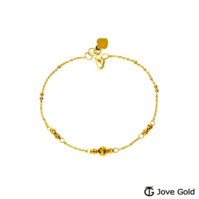 Jove Gold 漾金飾 晨光黃金手鍊