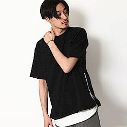 短袖T恤素色寬版棉TEE(4色) ZIP日本男裝