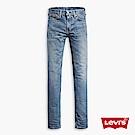 牛仔褲 男裝 510 中腰緊身窄管 彈性布料 刷白 - Levis