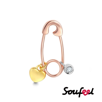 SOUFEEL索菲爾 925純銀珠飾 情比金堅 串珠