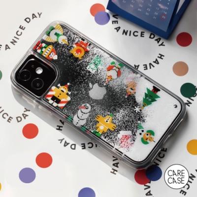 CARECASE 小怪獸系列 iPhone 12 Pro Max 手機保護殼 聖誕下雪款