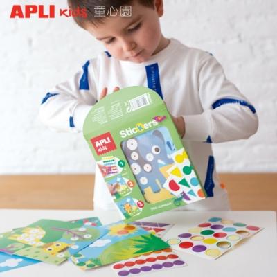 西班牙APLI 旅行貼紙畫-叢林(3Y+)
