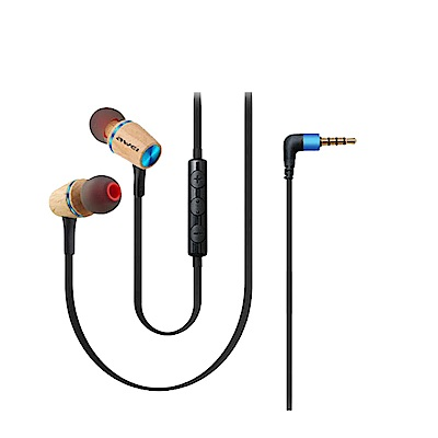 Awei ES-80TY原木立體聲入耳式耳機